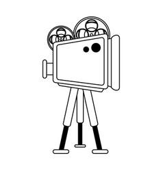 cinema caemra icon vector image