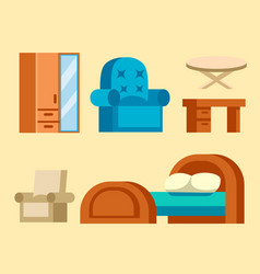 Sofa isolated isolated vector