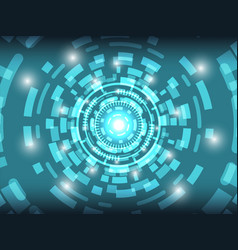 cyber security technology background concept vector image vector image