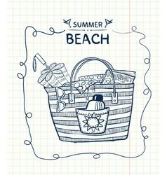Summer gear vector