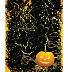halloween pumpkin vegetables vector image