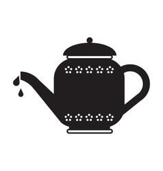 Tea Pot vector image vector image