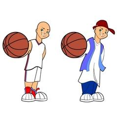 Basketball Boy vector image