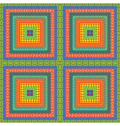 Carpet with ethnic motifs vector image vector image
