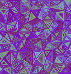 Abstract irregular triangle mosaic background vector