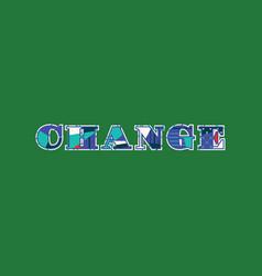Change concept word art vector