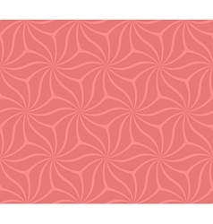 Coral seamless abstract curved pattern background vector