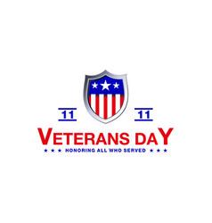 Design veterans day vector