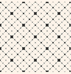 diagonal lattice seamless floral pattern vector image