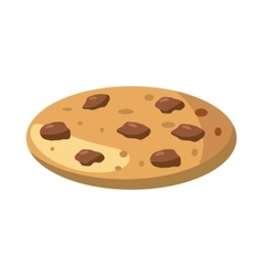Pie or pizza icon cartoon style vector
