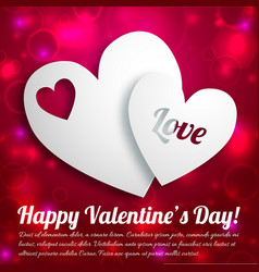 romantic lovely concept vector image