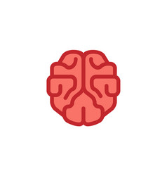 The brain pinky logo vector