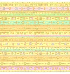 Gentle ethno background 2 vector image