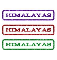 Himalayas watermark stamp vector