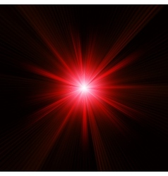 Red color design with a burst EPS 10 vector image