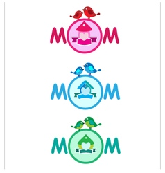 Banners for mother day vector image vector image