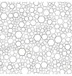 seamless comb pattern vector image