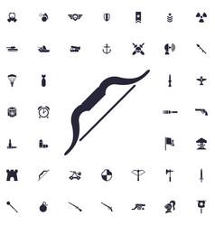 Bow icon vector