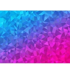 Polygonal Background for webdesign - Blue and pink vector