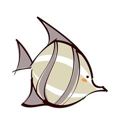 A tropical fishA tropical fish vector image