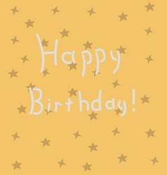 Background - Happy Birthday vector image