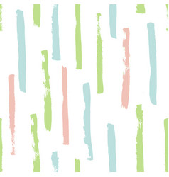 grunge vertical stripes pattern vector image