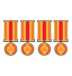 Medals vector