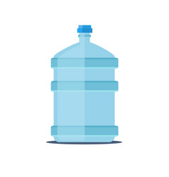 mineral water bottle isolated on white vector image