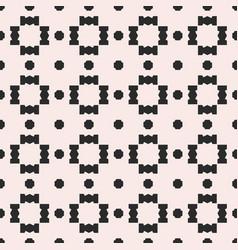 Monochrome geometric seamless jagged pattern vector