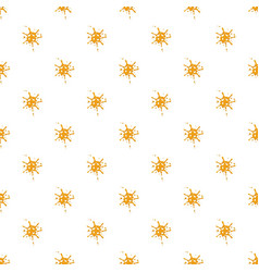 Small spot of honey pattern vector