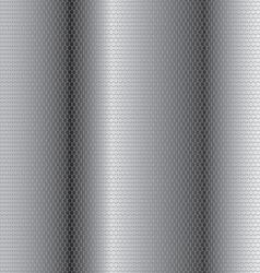 Steel honeycomb patterned background of interest vector image
