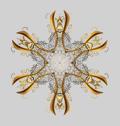 Winter snowflakes background repeated texture for vector