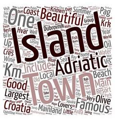 Yacht charter in croatia text background wordcloud vector