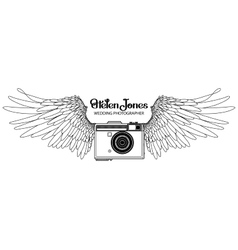 Collection of vintage hand drawn cameras vector image vector image