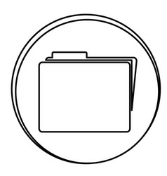 figure file emblem icon vector image