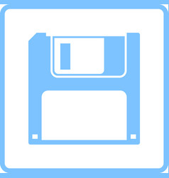 Floppy icon vector