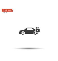 car lock icon eps vector image