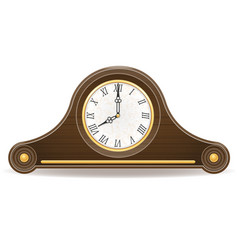 clock old retro icon stock vector image