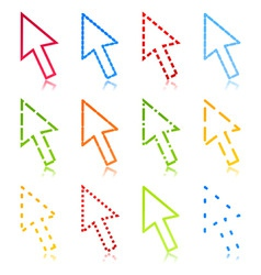computer arrow2 vector image