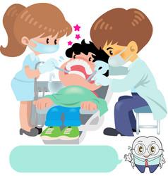 Dentist vector