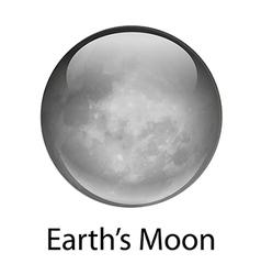 Earth s Moon vector