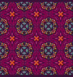ethnic pattern for fabric abstract geometric vector image