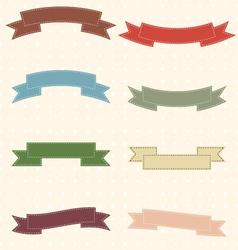 Ribbon-2 vector image