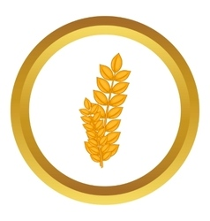 Wheat germ icon vector