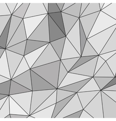 White Abstract Polygonal Background vector image