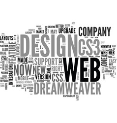 web design series dreamweaver and cs what s the vector image