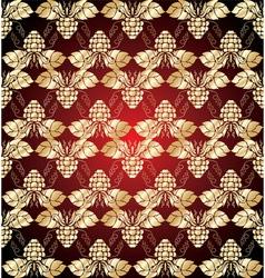 vintage wallpaper vector image vector image