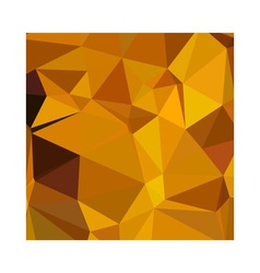 Dark Tangerine Abstract Low Polygon Background vector