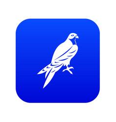 falcon icon digital blue vector image
