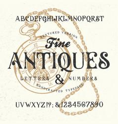 Font school newspaper vector